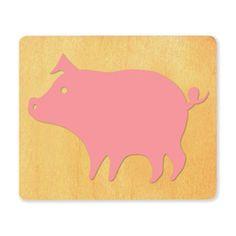 Ellison SureCut Die - Pig (Basic Beginnings) - Large (#23758-LG)