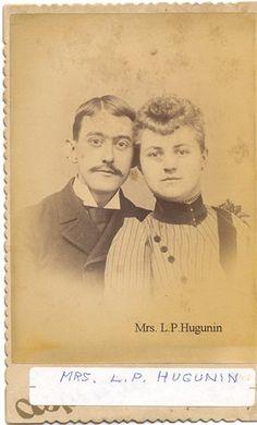Lydia & Hiram Leonard Hugunin 1836-