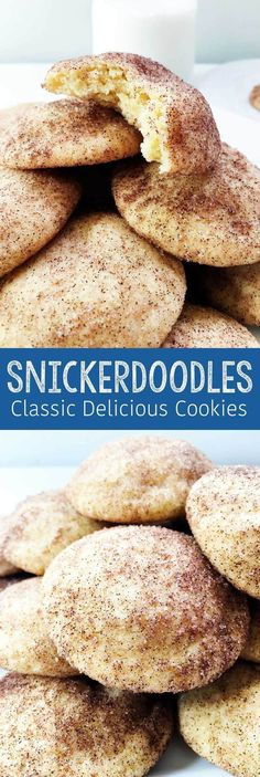 Use Coconut Oil - Snickerdoodle Cookies - Cinnamon, Coconut Oil, Cream of Tartar - 9 Reasons to Use Coconut Oil Daily Coconut Oil Will Set You Free — and Improve Your Health!Coconut Oil Fuels Your Metabolism! Brownie Desserts, Mini Desserts, Christmas Desserts, Delicious Desserts, Yummy Food, Tasty, Christmas Cookies, Christmas Parties, Christmas Cookie Recipes