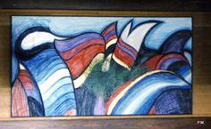 Gemälde v. Paul Maler,  Ausstellung Sporthotel Quickborn