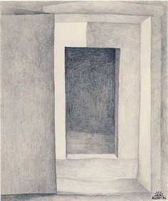 Patio Door by Georgia O'Keeffe. Precisionism. interior