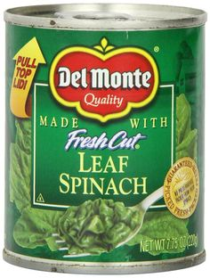 Del Monte Leaf Spinach, 7.75-Ounce (Pack of 12) ** Visit the image link more details.
