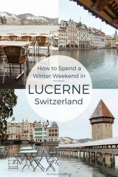 Winter Weekend in Lucerne