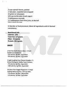 Jessica Simpson Smoothie Diet pt. 3