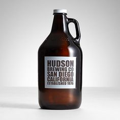 Personalized Brew Co. Glass Growler
