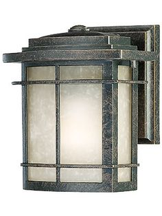 """Galen Small Outdoor Light In Imperial Bronze imensions: 7 1/2"""" H x 6 1/2"""" W. Projection: 6"""". Back plate: 5 1/2"""" H x 4 1/2"""" W. This fixture uses one medium base bulb, 100W max (bulb not included). Wet rated for exposed exterior use. 120.90 http://www.houseofantiquehardware.com/galen-small-outdoor-light?sc=9&category=358784"""