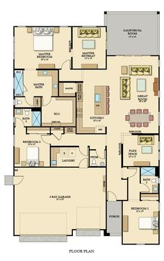 Dream House Plans, House Floor Plans, My Dream Home, Dream Houses, Sacramento, House Blueprints, Home Ownership, New Homes For Sale, House Layouts