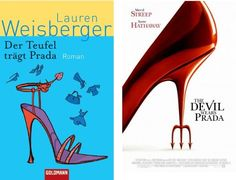 Book vs. Film The Devil Wears Prada. Der Teufel trägt Prada