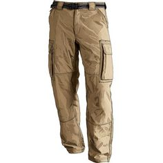 Khaki Cargo Pants -- Will be what they will wear to check on to the ship and what they will wear while visiting ports. (This is a sample pictures) Whatever brand suits you is fine. Cabelas, LL Bean, Sears, Work, Kohls, Bass Pro all carry them.