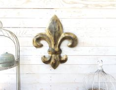 Iron Fleur del Li, Home Decor, For the Home, French Home, Metal Wall Art, Customize