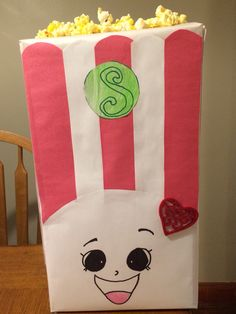 Shopkins Valentine Box Poppy Corn