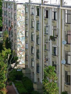 La Cité des Etats-Unis (1917-1934), Tony Garnier, Lyon © Région urbaine de Lyon – Pierrick Arnaud Tony Garnier, Lyon France, Architecture, Multi Story Building, Around The Worlds, Outdoor Structures, City, Urban Planning, Urban