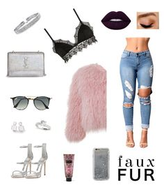 """""""Sin título #61"""" by luliscopp on Polyvore featuring moda, Bling Jewelry, Ermanno Scervino Lingerie, Giuseppe Zanotti, Charlotte Simone, Yves Saint Laurent, Ray-Ban, Agent 18, Ippolita y Victoria's Secret"""