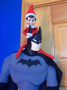 Elf just hangin' with the big boys!