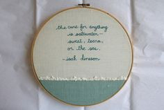 so pretty! i love the cursive embroidery and little edged contrast border