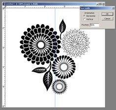 Making perfect repeat patterns in photoshop
