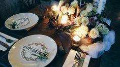 Rustic floral table decoration • Divine project bali