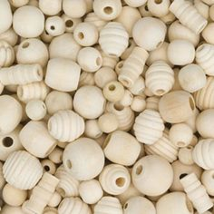 2015/05/28 Unfinished Country Beads | Dick Blick | approx 240 pcs - $8.34