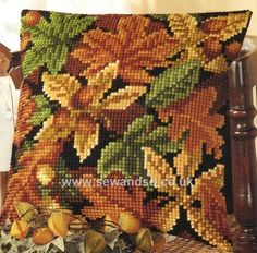 Shop online for Autumn Leaves 3 Cushion Front Chunky Cross Stitch Kit at sewandso.co.uk. Browse our great range of cross stitch and needlecraft products, in stock, with great prices and fast delivery.