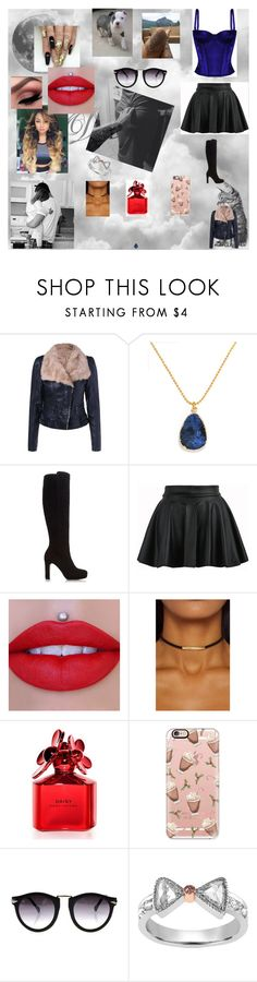 """little me 21"" by nikoleta-nicky-malik ❤ liked on Polyvore featuring STELLA McCARTNEY, BaubleBar, Dune, Marc Jacobs, Casetify and Vivaan"