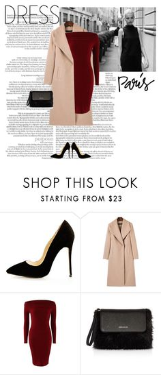 """""""Winter dress."""" by minni15 ❤ liked on Polyvore featuring Wildfox and Karen Millen"""