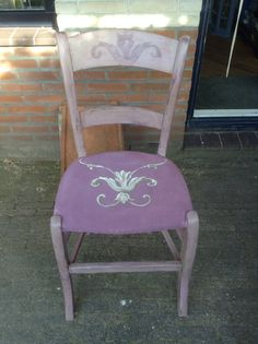 Shabby chic painted with Annie Sloan paint