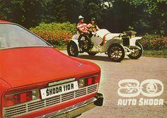 1980 Skoda 110R & Antique Skoda, 80 Years