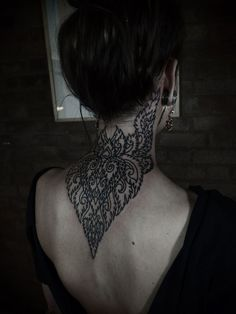 Fed onto Neck Tattoo Designs Album in Tattoos Category Piercing Tattoo, I Tattoo, Piercings, Mandala Tattoo, Filigree Tattoo, Tattoo Blog, Tattoos Partner, Henna Designs, Tattoo Designs