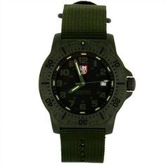 "Luminox Black Ops Carbon ""Green Out"" Watch (#8817.GO) Image"
