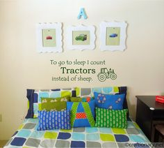 To+Go+to+Sleep+I+Count+Tractors+Instead+of+by+TheVinylCompany,+$15.00