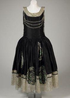"""Lanvin """"Veilleur de Nuit"""" Gown 1924"""