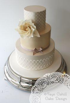 Wedding Cake - MODwedding