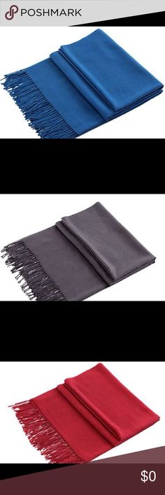 100% Cashmere Scarfs for Women or Men These are soft 100% Cashmere scarfs that can be for women or men. We have your choice of Dark Blue, Dark Grey, Wine Red, White, and Black. Other