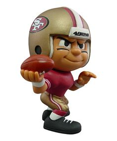 Take a look at this San Francisco 49ers Quarterback Lil' Teammate Figurine by Party Animal on #zulily today!