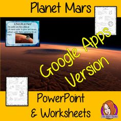Distance Learning Planet Mars PowerPoint and Worksheets Lesson teach children about planet Mars in one complete lesson. Detailed 24 slide PowerPoint on planet Mars, the possibility of life on mars and discusses if how we explore the planet. There are also differentiated, 6 page, worksheets to allow students to demonstrate their understanding. This pack is great for teaching kids about Mars. #solarsystem #space #science #sciencelesson #planetmars #mars #googleclassroom