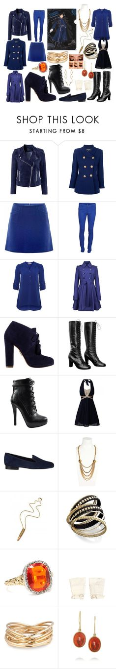 """Female Roy Mustang"" by allysonkrystyne ❤ liked on Polyvore featuring H&M, Chanel, Goat, VILA, A