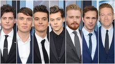 "New Trending Celebrity Looks: Harry Styles at the ""Dunkirk"" NY Premiere (also, the rest of the cast of ""Dunkirk""). Sorry about the title, boys! You know how these things go. Now line up for judgment. We promise we'll be harshest with Harry. Aneurin Barnard Secret Service Agent. Do better next time. Cillian Murphy Just got off work and hitting the bar for happy hour...."