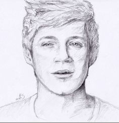 Niall Horan... I can hardly draw stick figures correctly...
