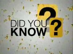 Did u know these facts before???then u gotta watch this...