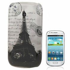 Neu im Shop viele Galaxy S3 mini Cover Backcover Samsung Galaxy S3 mini i8190 Paris / Cover Case Hülle