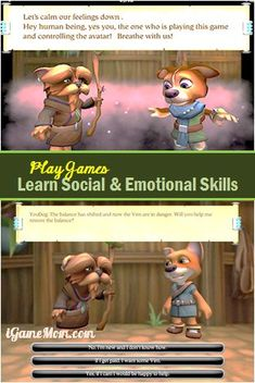 Learn social emotional skills by playing games - a game app designed for tween and teens #kidsapps
