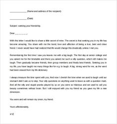 21 recommendation letter templates free sample example format 36 friendly letter templates free sample example format download free spiritdancerdesigns Images