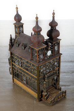Monumental English Victorian Bird Cage c.1880s