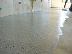 Cement Floor Finishing Ideas | Ask Steve Maxwell | How to fix Concrete Floor Cracks with Epoxy Paint