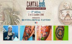 Bettina Royal Tattoo Pays : France #CantalInk #FestivalTatouage #tatouage #tattoo