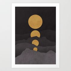 Rise of the golden moon by Budi Satria Kwan