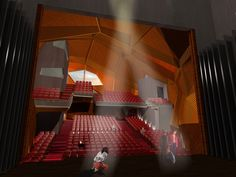 Teatro Municipal Chacao / ODA Concert Hall, Opera House, Stairs, Home Decor, Centre, Houses, Student, Auditorium, Architecture