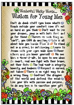 Wisdom for Young Men – Gifty Art – Suzy Toronto: Gifts for Women Suzy, Grandson Quotes, I Love My Son, Birthday Quotes, Birthday Wishes, Young Man, Me Quotes, Mommy Quotes, Life Lessons