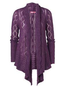 BERTA kofta lila, str. L | Cardigan | Tröjor & Koftor | Mode | INDISKA Shop Online