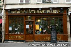 Midnight In Paris location: Gil meets Ernest Hemingway: Restaurant Polidor, rue Monsieur le Prince, Paris